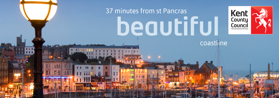 Beautiful coastlines - 37 minutes from St Pancras