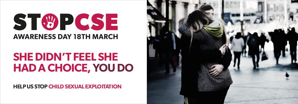 CSE Awareness Day banner