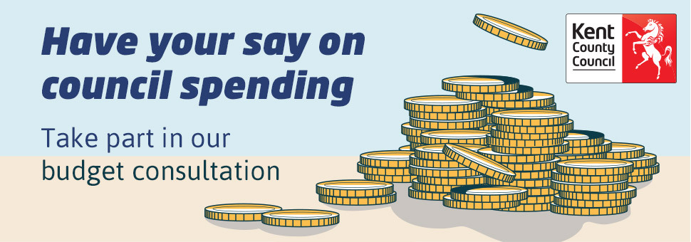 Have your say on council spending. Take part in our budget consultation.