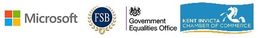 Women's Enterprise Kent logos