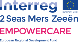 Interreg 2 Seas Mers Zeeen EMPOWERCARE European Regional Development Fund