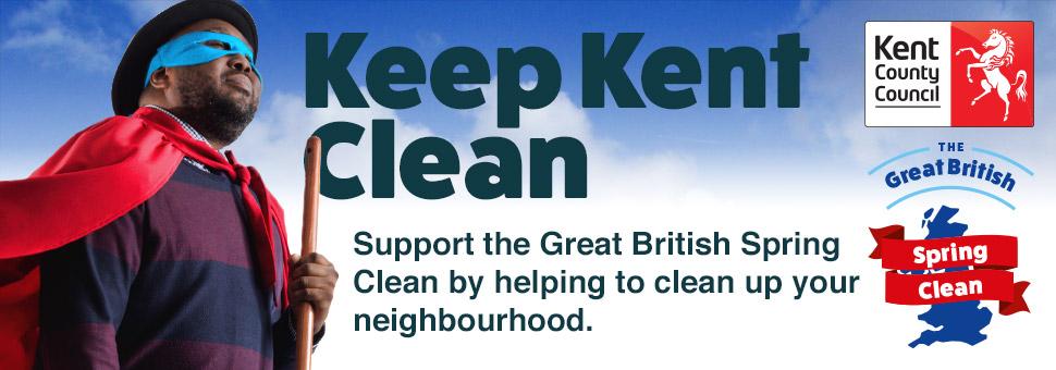 Keep Kent clean banner