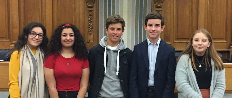 Deputy members of Kent Youth County Council for 2019