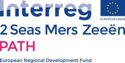 Logo image for the Interreg 2 Seas Mers Zeeen PATH project