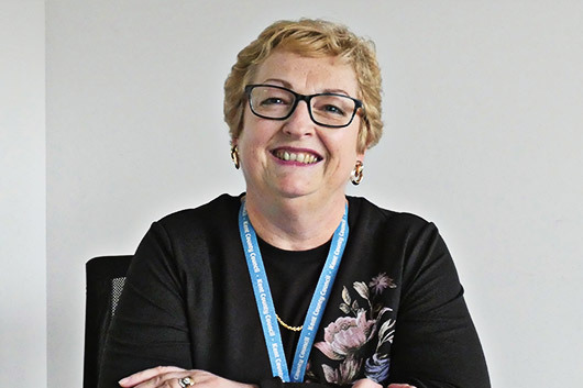 Photo of Janice Duff - Interim Head of Older People and Physical Disability services.
