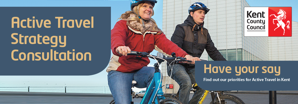 Active Travel Strategy banner