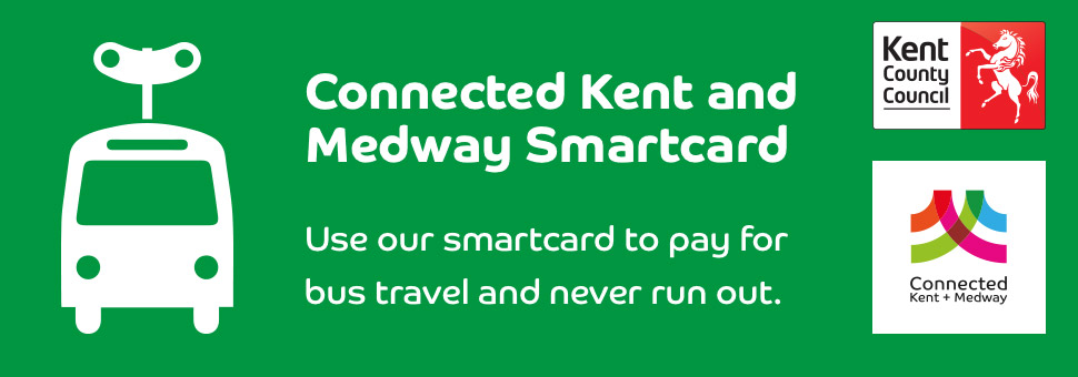 Connected Kent and Medway Smartcard banner