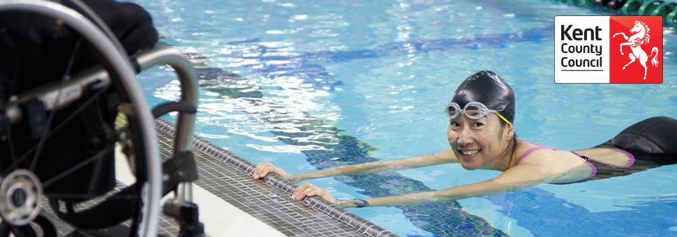 OPPD recruitment banner swimming pool