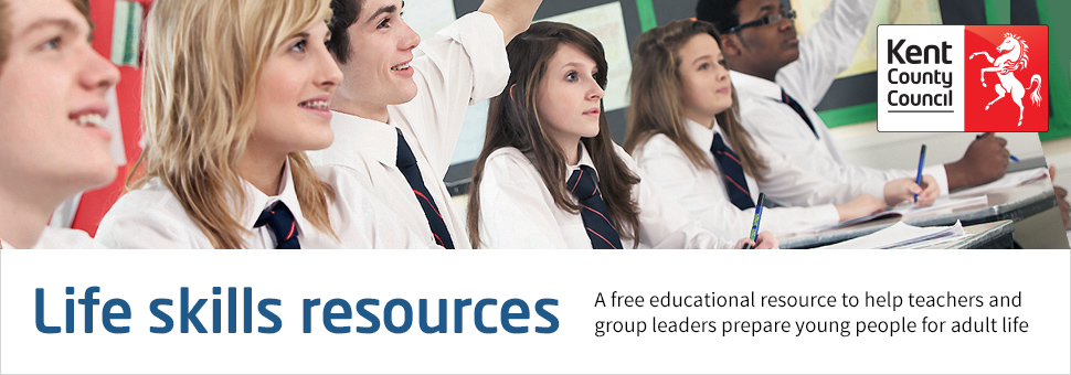 Trading Standards free life skills resources for secondary schools banner