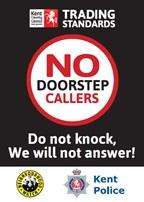 Doorstep callers sticker