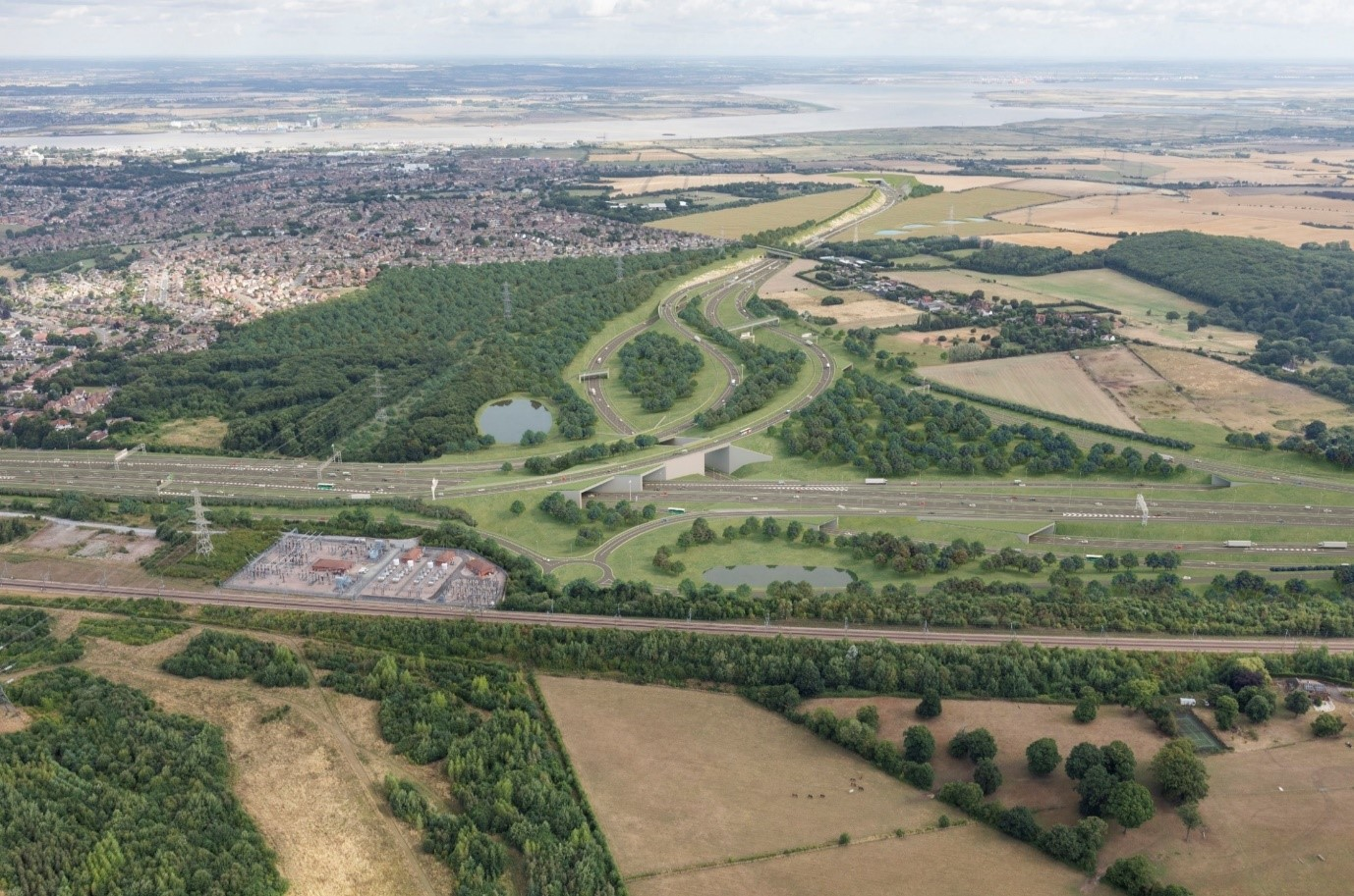 Thames Crossing proposed junction with the A2