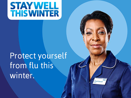 Stay well this winter. Protect yourself from flu this winter.