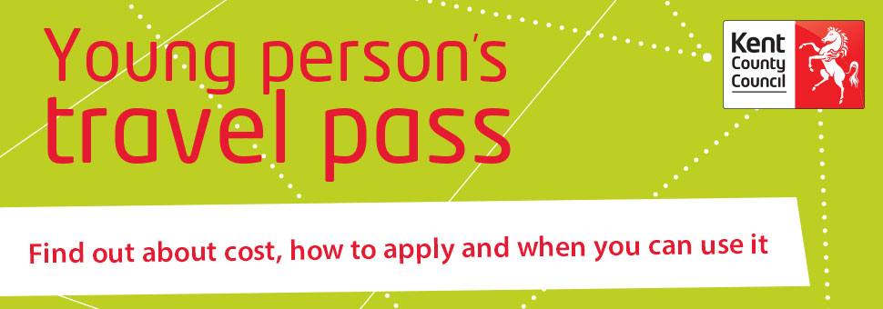 Young persons travel pass banner