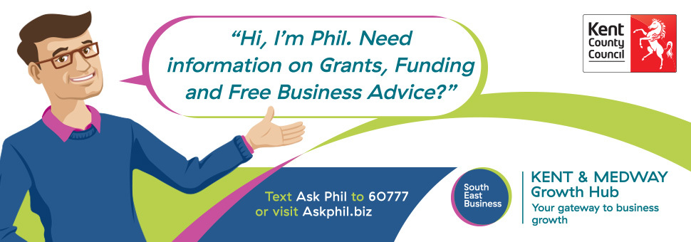 Ask Phil campaign banner